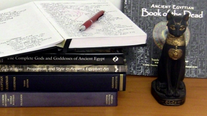 My historical research includes over 400 pages of handwritten notes on English-to-Egyptian translation alone.