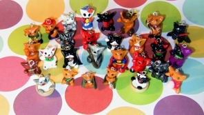 Animini cats are sculpted and painted by hand so they each have their own personalities.